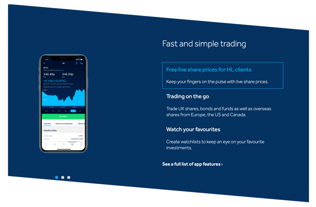 Hargreaves Lansdown Mobile App Review
