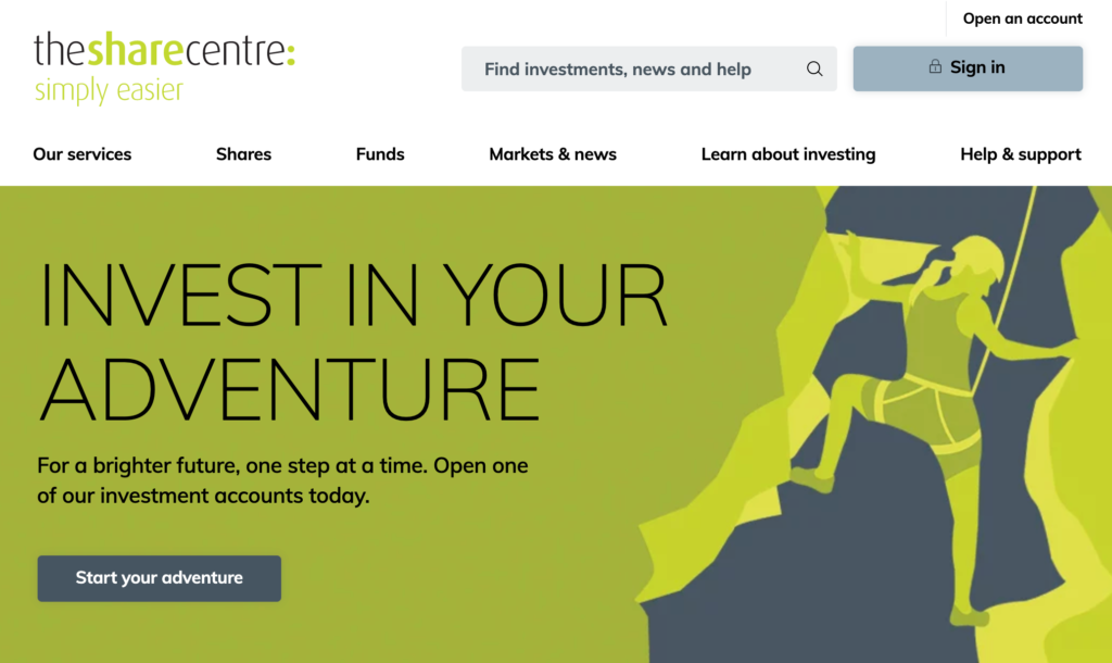 The Share Centre Review