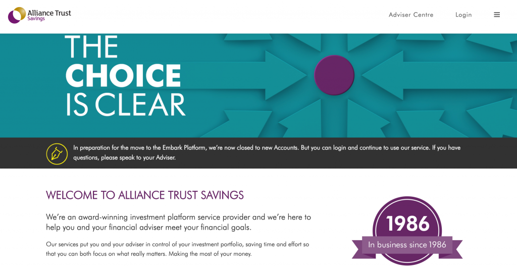 Alliance Trust Savings Review