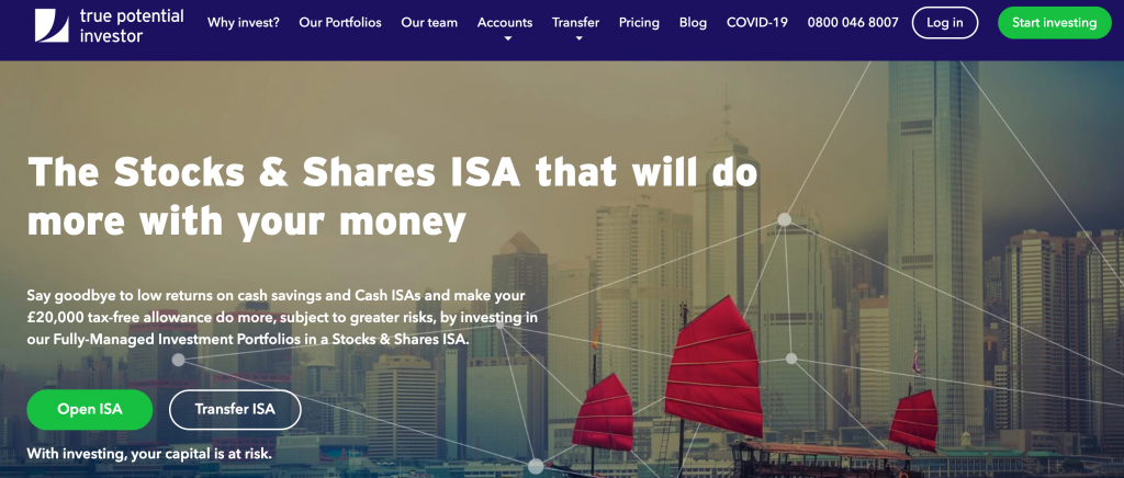 True Potential Investor ISA Review