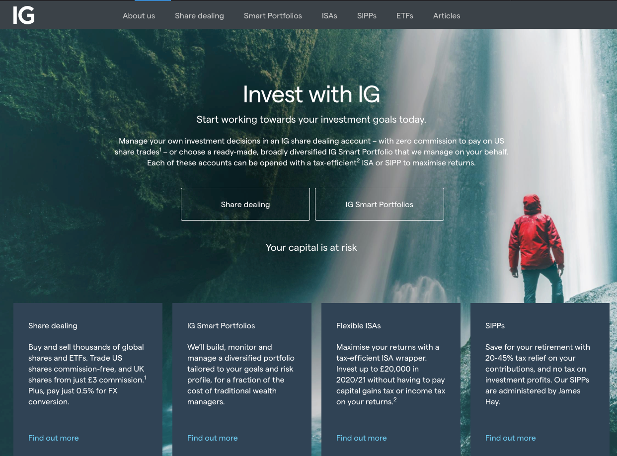 IG Investments Review