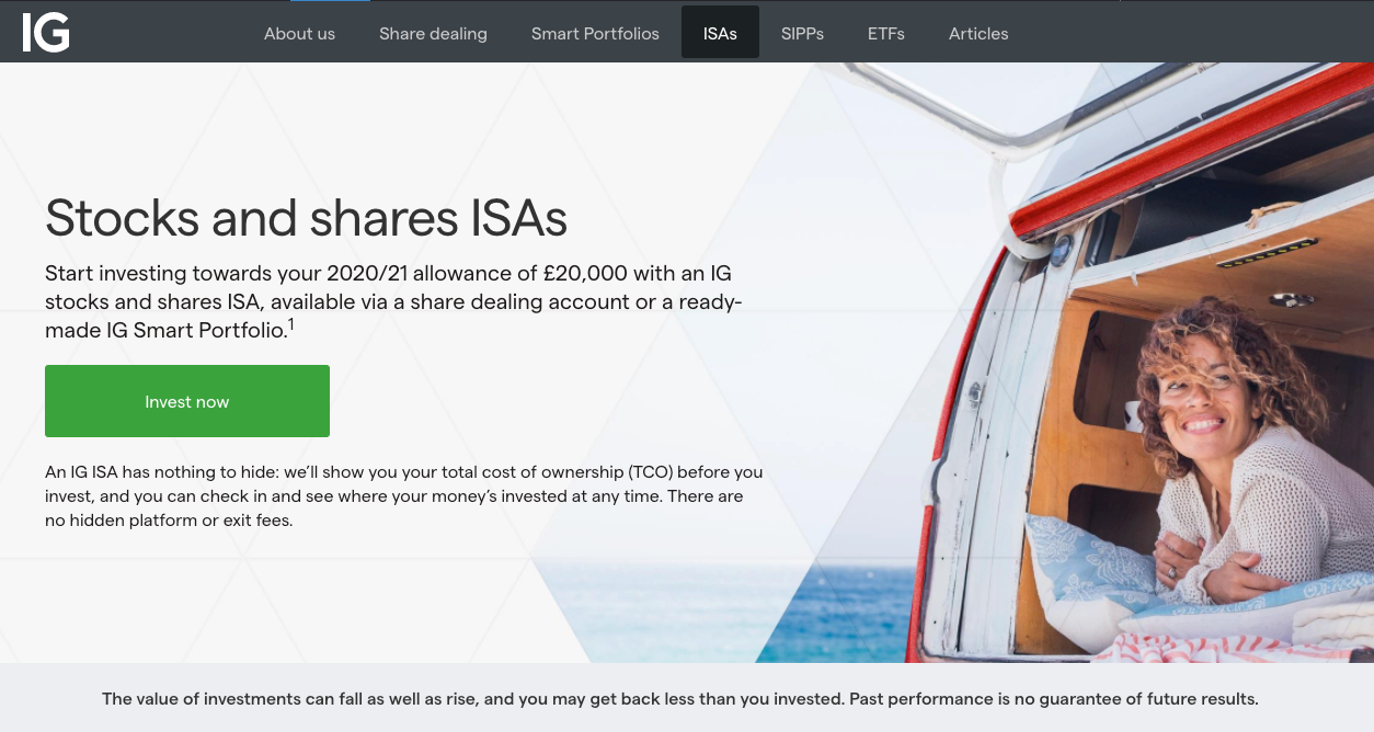 IG Investments ISAs Review
