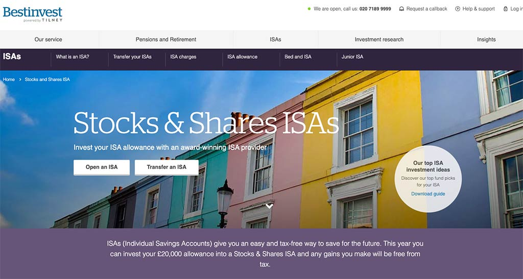 Bestinvest UK ISA Review
