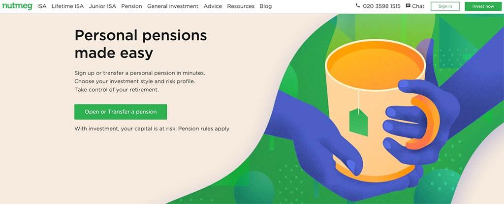 Nutmeg Personal Pension