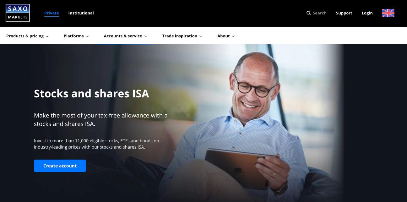 Saxo Markets ISA Review
