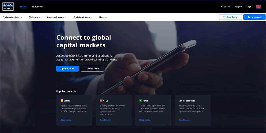 Saxo Markets UK Review