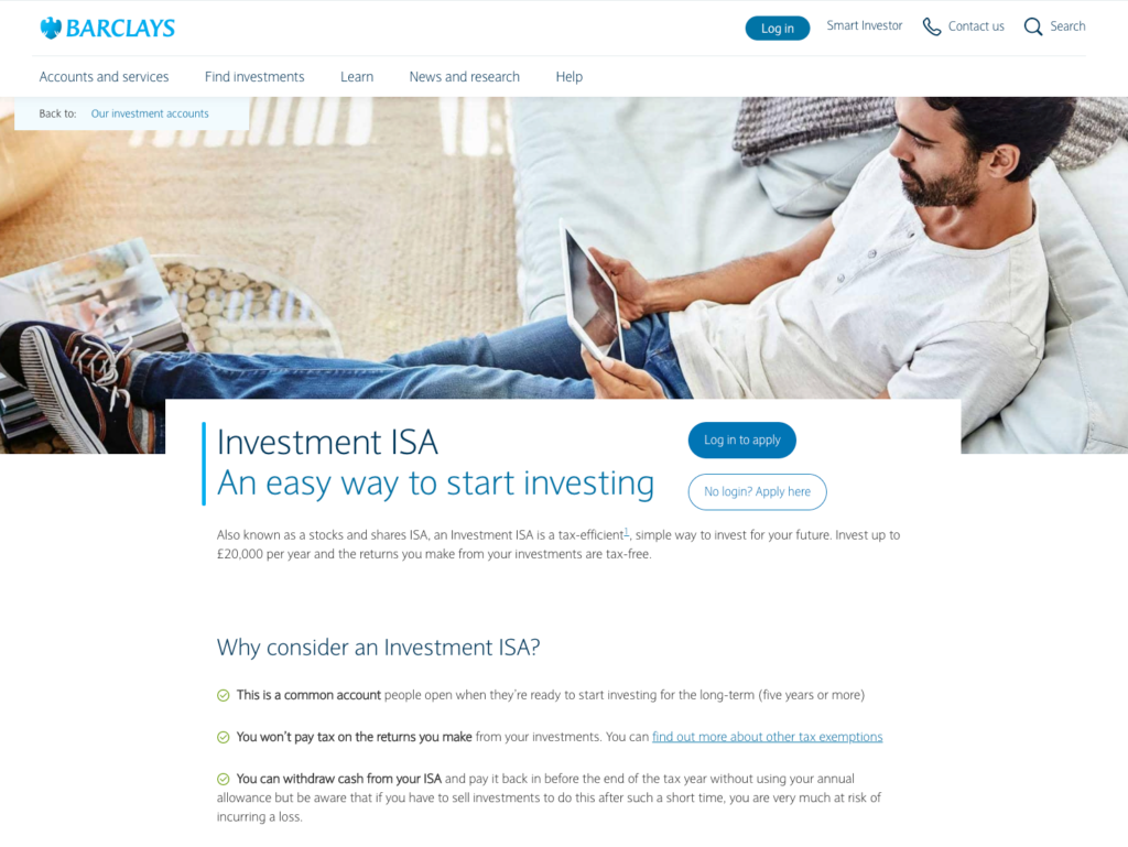 Barclays Smart Investor ISA Review