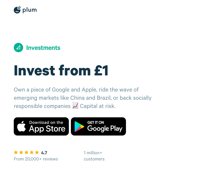 Plum Investments Review