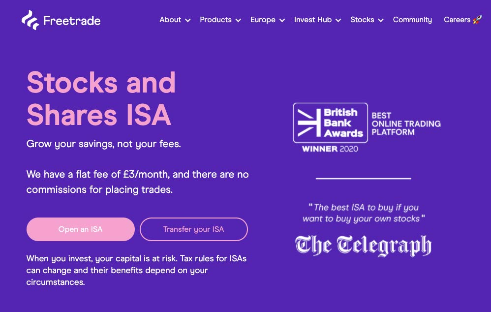 Freetrade ISA Review