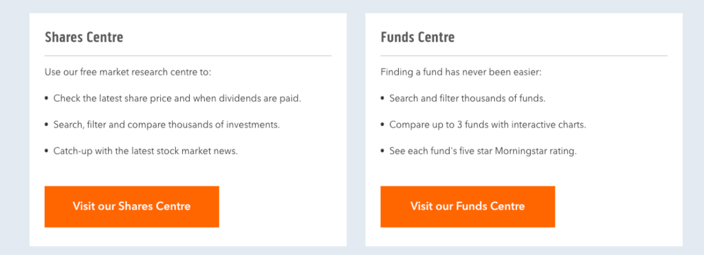 iWeb Shares and Funds Review