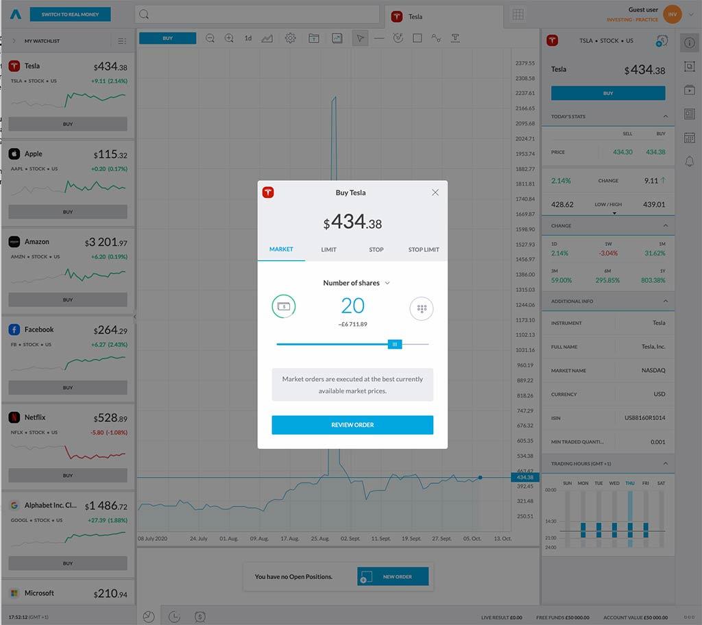 Trading212 Platform Review