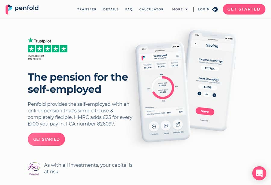 Penfold Pension for Self-Employed