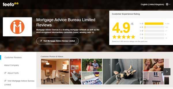 Mortgage Advice Bureau Feefo Reviews