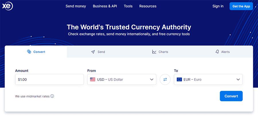 XE Money Transfer Review UK
